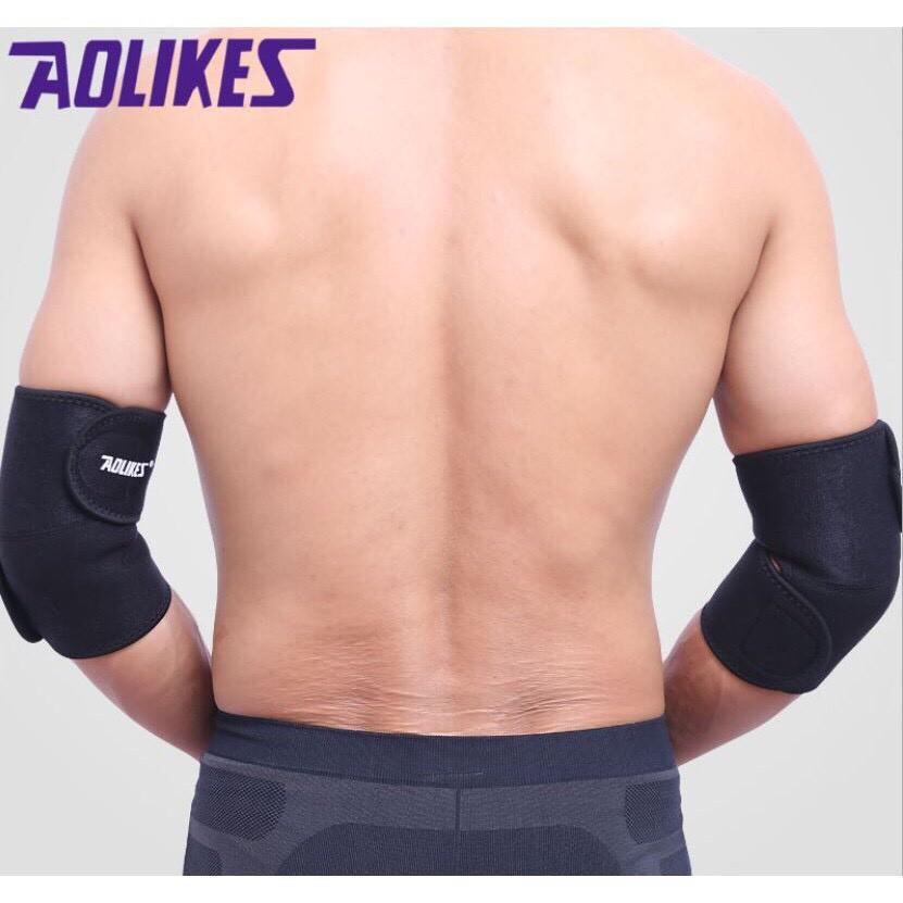 Đai quấn bảo vệ khuỷu tay hỗ trợ tập Gym Aolikes A7646 (1 đôi)