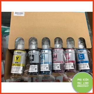 ☘️Mực in màu E.pson T673 mực máy in E.pson L800 / L810 / L805 / L850 / L1800 nhập khẩu