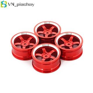 COD Aluminum Alloy Wheel Hub for 1/10 Flat Running Drift Climbing Car HSP94122 94123 CS D4 TT02
