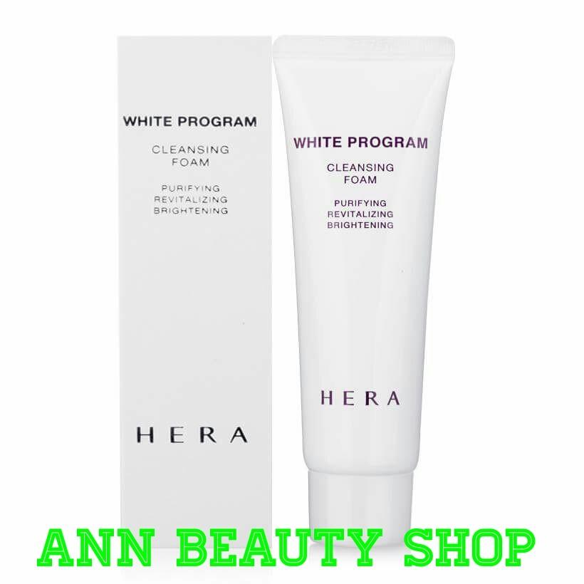 Sữa rửa mặt trắng da HERA White Program Cleansing Foam Minisize 50ml