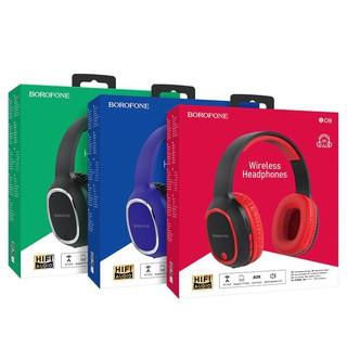 [Mã ELFLASH5 giảm 20K đơn 50K] Tai nghe chụp tai bluetooth hỗ trợ khe cắm thẻ nhớ Borofone Bo9 chính hãng