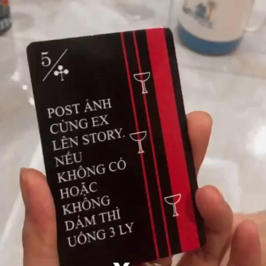 Bộ Bài Drinking Cards Let's Xin 52 lá – Bài Nhậu Cùng Bạn Bè