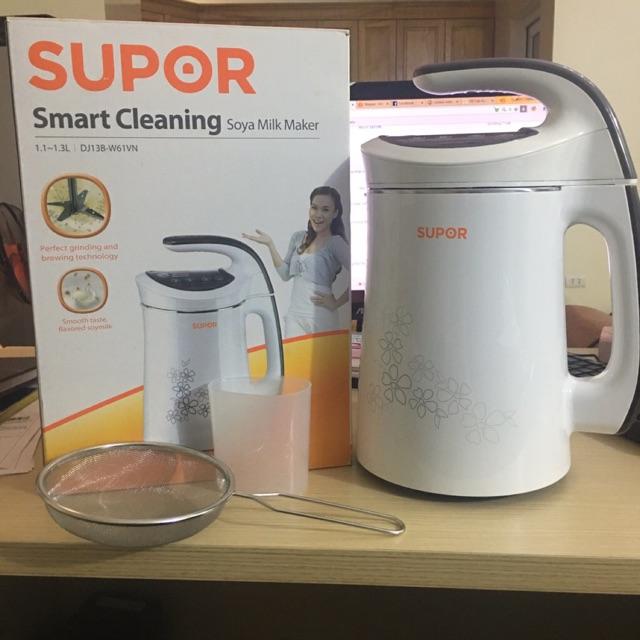 Máy làm sữa đậu nành Chính hãng Smart Cleaning 1.3L DJ13B-W61VN