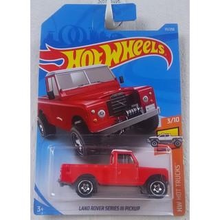 Xe mô hình Hot Wheels Land Rover Series III Pickup FYB54