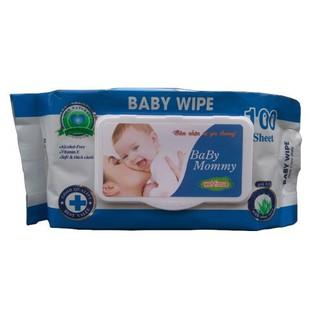 Khăn Ướt Baby Mommy 100 Tờ Cho Bé 4