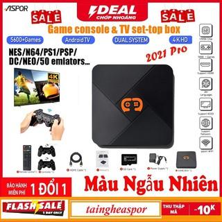 [NEW 2021]Máy Chơi Game Cầm Tay Điện Tử 4 Nút HDMI Không Dây Tích Hợp Hơn 5600+ Trò Chơi Cho PSP PS1 FC NES N64 thumbnail