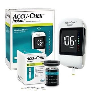 [Chính hãng] Hệ thống máy đo đường huyết Accu-Chek Instant.Kèm Dụng cụ lấy máu Softclix, 10 kim, hộp 25 que,Sx tại Mỹ thumbnail