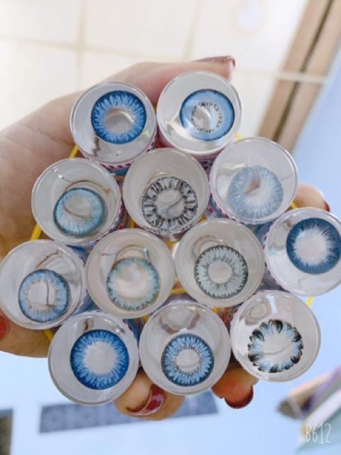 lens màu xanh dương 50k/cặp