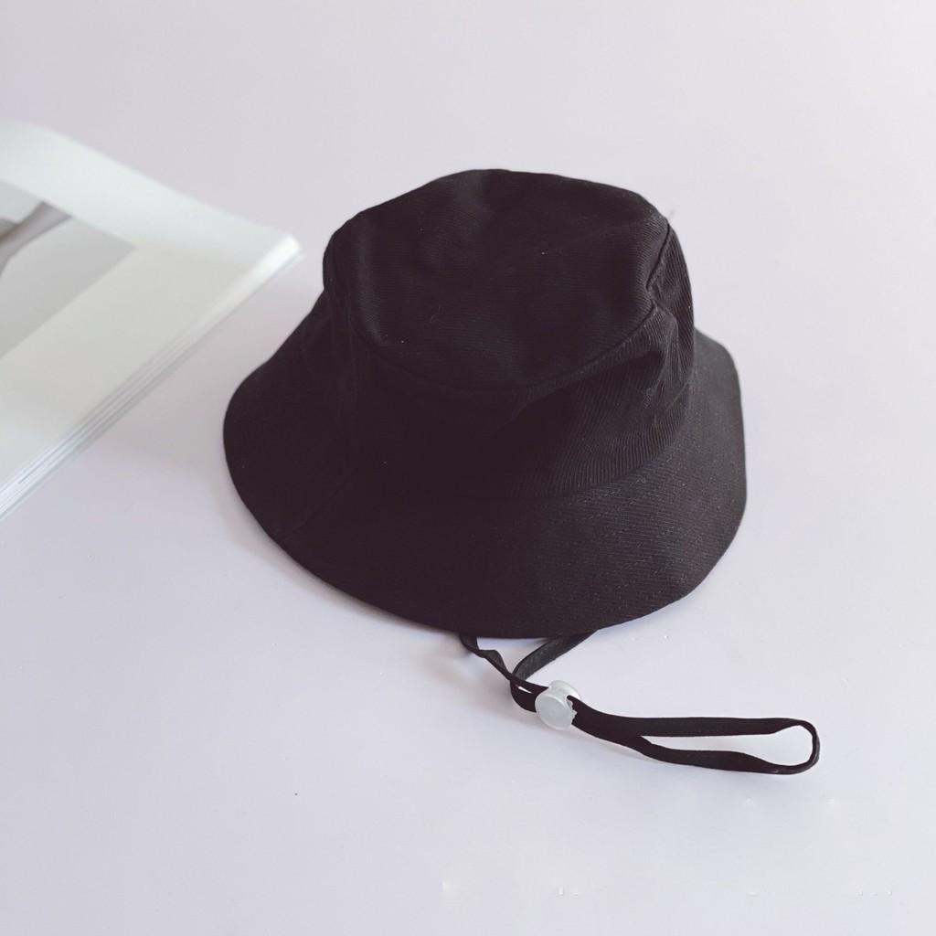 [M050] Mũ tai bèo dây rút cho bé 2-7T