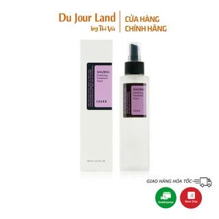 Nước hoa hồng Cosrx, nước cân bằng Cosrx, Toner AHA/BHA Clarifying Treatment 150ml - Du Jour Land
