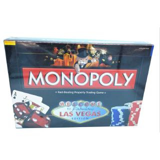 🔯Las Vegas Monopoly Rich Man Card Board Party Family Children Adult Kid Game Toy