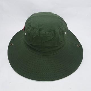 Nón tai bèo, nón bo nam, nón lính mùa hè xanh vành rộng, chống nắng tốt – NBN01