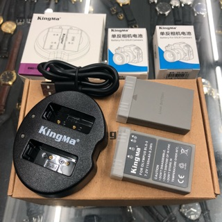 Pin + Sạc BLS5 cho máy Olympus - hiệu Kingma bảo hành 12 thánh 1 đổi 1 thumbnail