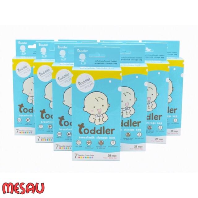 Hộp 49 túi trữ sữa Toddler Thái Lan 250ml