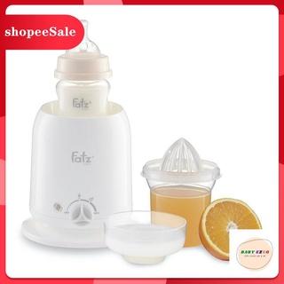 [Hàng mới về] Máy hâm sữa và thức ăn siêu tốc 4 chức năng Fatzbaby FB3002SL thumbnail