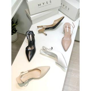 Giày mũi nhọn khoét eo 5 cm Myss - CG163 thumbnail