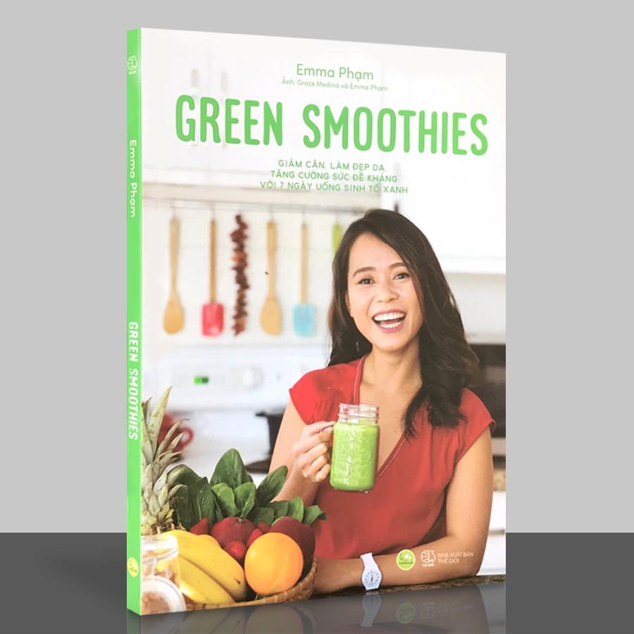 [Mã BMHOT88 giảm 15% đơn 99k] Sách - Green Smoothies - Giảm Cân, Làm Đẹp Da, Tăng Cường Sức Đề Kháng