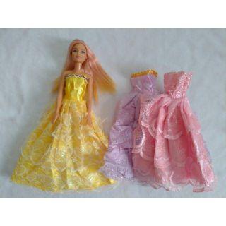 Combo 5 đầm búp bê rẻ đẹp barbie
