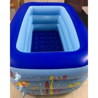 Bể bơi có đáy chống trơn trượt cho bé 1m30