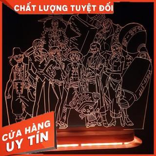 Đèn Led 3D trang trí team mũ rơm one piece led_3D_khanhlinh