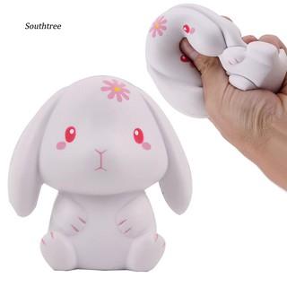 LYY_Cartoon Rabbit Model Squeeze Slow Rising Squishy Decompression Toy Room Decor