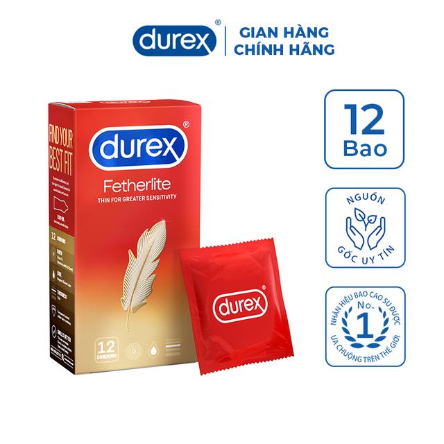 Bao cao su Durex Fetherlite 12 bao