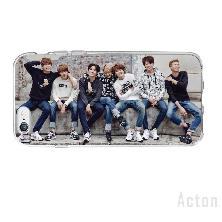 BTS All-inclusive Painted Phone Apple Case Anti-fall Soft Shell 818