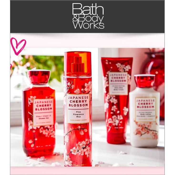 Sản Phẩm Tắm Lotion Xịt Thơm Toàn Thân Bath & Body Works-Japanese Cherry Blossom