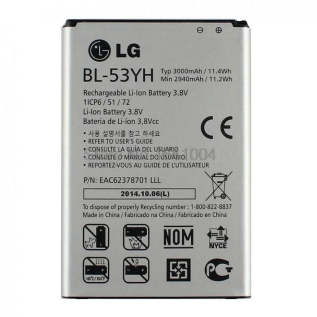 PIN G3 F400 D855 / BL-53YH xịn - 3253979 , 425304969 , 322_425304969 , 190000 , PIN-G3-F400-D855--BL-53YH-xin-322_425304969 , shopee.vn , PIN G3 F400 D855 / BL-53YH xịn