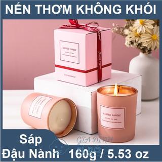 Nến Thơm Tinh Dầu Cao Cấp Không Khói An Toàn Candle Cup thumbnail