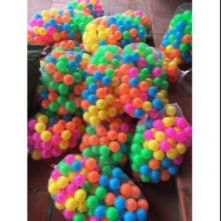 Bộ 100 bóng nhựa cho trẻ em