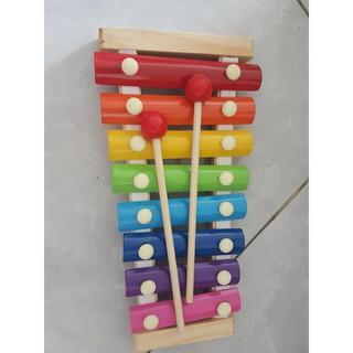 Đàn Piano Xylophone gỗ 8 thanh quãng – Đồ chơi âm nhạc cho bé