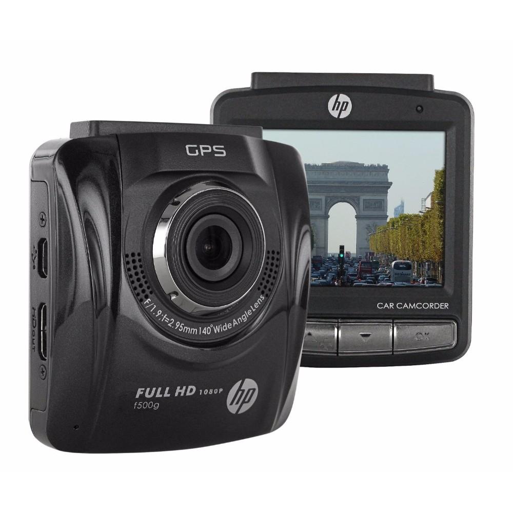 CAMERA HÀNH TRÌNH XE HƠI HP F500G GPS