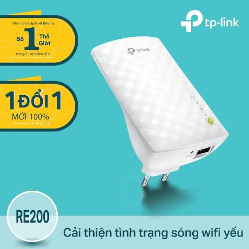 TP-Link RE200 Bộ mở rộng sóng Wi-Fi AC750 Hãng phân phối chính thức