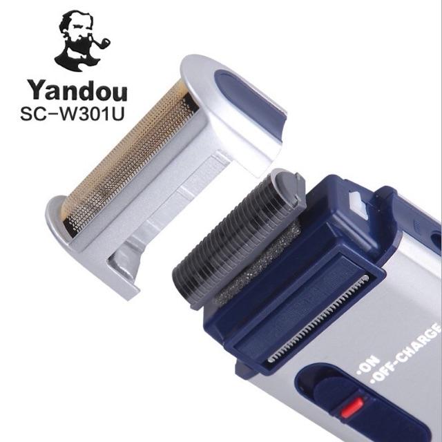 Máy cạo râu,cạo khô Yandou SC-W301U