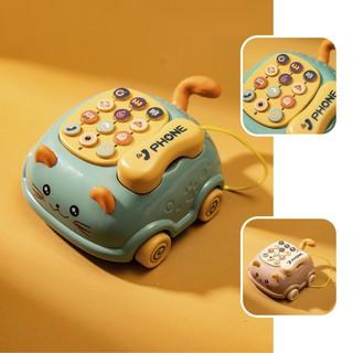 Điện thoại đồ chơi cho bé, đồ chơi phát nhạc cho trẻ từ 0-3 tuổi - giáo dục sớm thumbnail