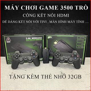 Máy chơi game cầm tay không dây 4 nút HDMI 3500 trò chơi cổ điển, phân giải 4K, bảo hành 2 năm thumbnail