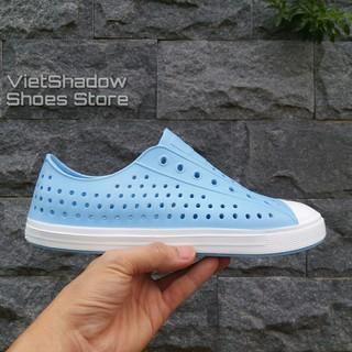 Giày nhựa đi mưa Native- Chất liệu nhựa xốp siêu nhẹ, không thấm nước - Màu xanh da trời thumbnail