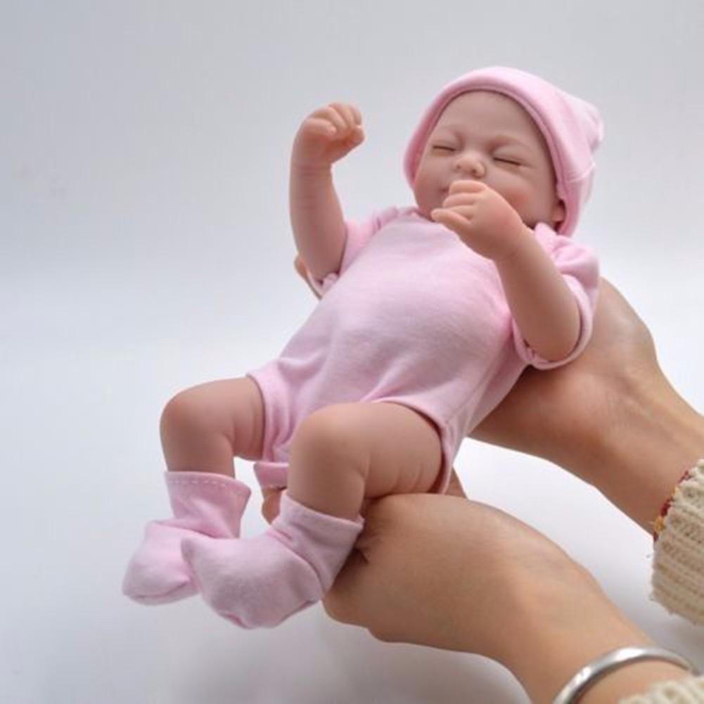 Búp bê em bé sơ sinh bằng silicon mềm đáng yêu y như thật