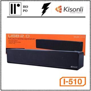 Loa SoundBar Kisonli I-510- Âm Thanh Cực Hay, Kiểu Dáng Sang Trọng - Full Box, Bảo Hành 06 Tháng. 1 Đổi 1(CLP THẬT) thumbnail