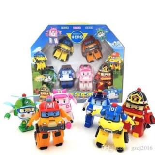 Bộ 6 món đồ chơi cho bé ( Robocar poli )
