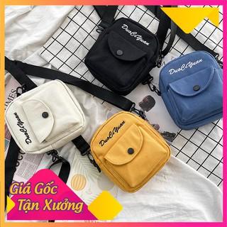 Túi Vải Đeo Chéo Mini Dây Rút Style Hàn Quốc Mẫu Mới Hot Trend 2021