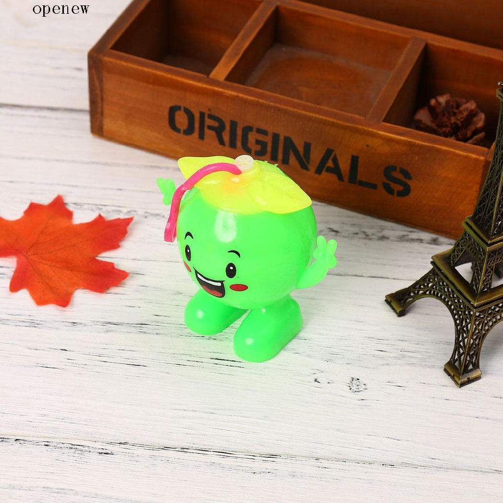 op Kids Cartoon Cute LED Light Up Flashing Rubber Bouncy Squeaky Toy