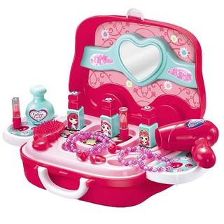 Đồ chơi trang điểm cho bé gái có vali bánh xe kéo Toyshouse