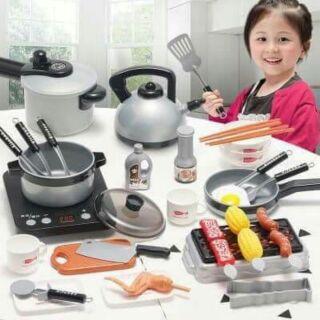 Bộ đồ chơi nấu ăn cho bé 36 món.
