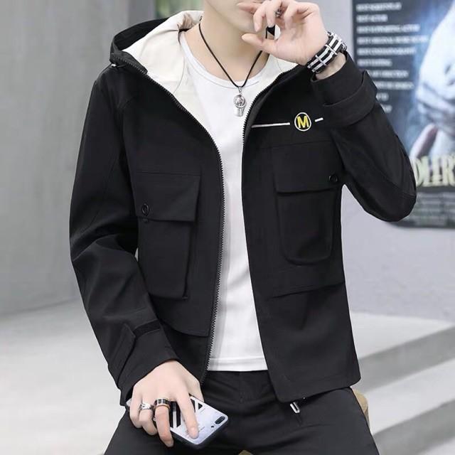 áo khoác nam cao cấp🔥 FREESHIP Đơn 250K 🔥 Áo khoác kaki nam đẹp phong cách thời trang Hàn Quốc
