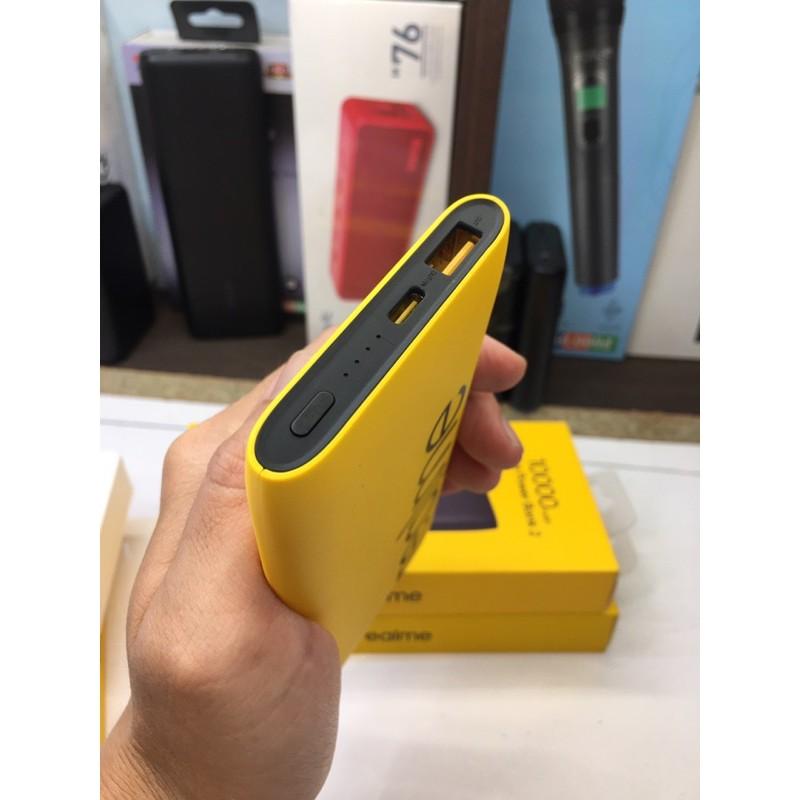 Pin Sạc Dự Phòng Realme 10000mAh USB Type - C In, Sạc Nhanh Quick Charge 18W - Hàng Chính Hãng New 100%