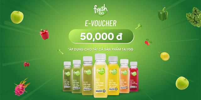 Hình ảnh HCM-HN [E-voucher] Giảm 50k cho mọi đơn hàng khi mua các sản phẩm tại Fresh SaiGon-0