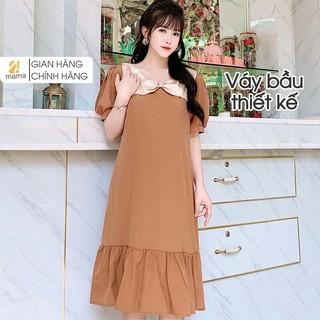 Váy bầu thiết kế 2MAMA dáng suông đuôi cá V80 thumbnail