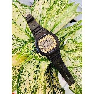 Đồng hồ điện tử nam nữ Sppors Đen mặt vàng cực đẹp thumbnail